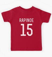 Megan Rapinoe #15 Kids T-Shirt