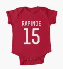 Megan Rapinoe #15 Short Sleeve Baby One-Piece