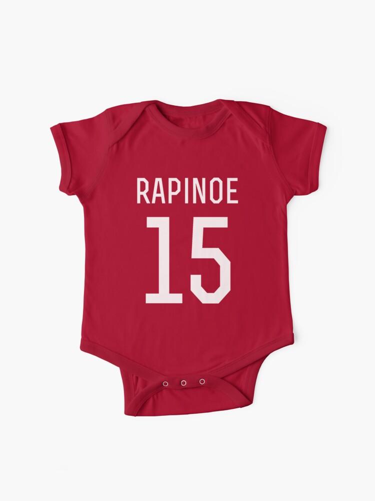 buy online 0a69e ed3bf Megan Rapinoe #15   Baby One-Piece