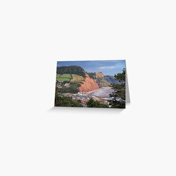 Sidmouth Seafront Greeting Card