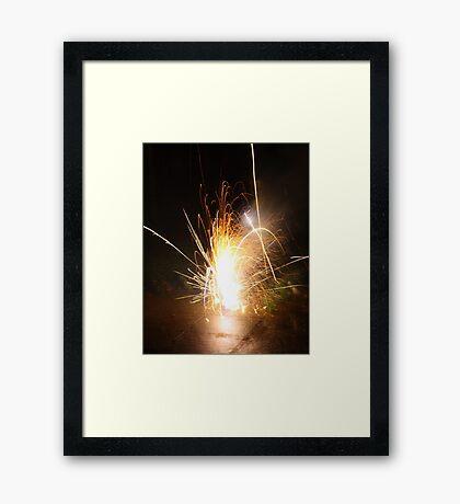 fountine Framed Print