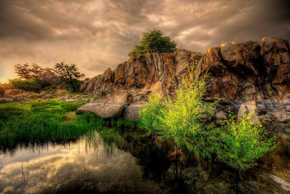Melt Rock by Bob Larson