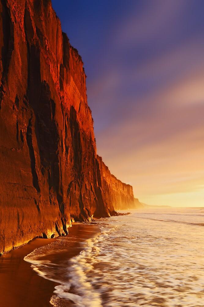 Dawn at Demon's Bluff - Anglesea by Mark Shean