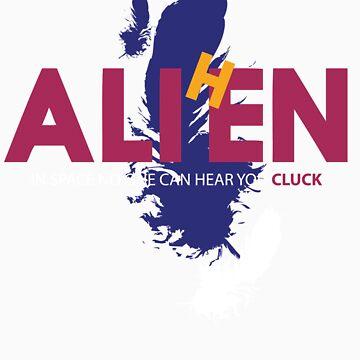 AliHen  - In space... ...cluck by mateyboy