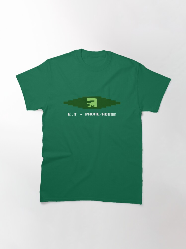 Vista alternativa de Camiseta clásica ET TELEFONO CASA