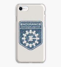 vintage Endurance stamped (dark print) iPhone Case/Skin