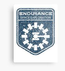 vintage Endurance stamped (dark print) Metal Print