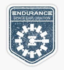 vintage Endurance stamped (dark print) Sticker