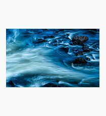 Water And Granite Photographic Print