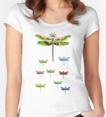 dragonfly squadron Women's Fitted Scoop T-Shirt