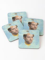 Castiel with bees Coasters
