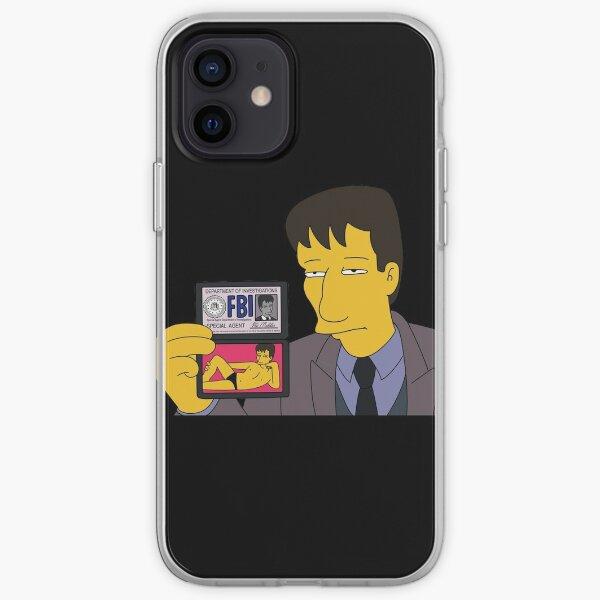 Agent Mulder FBI iPhone Soft Case