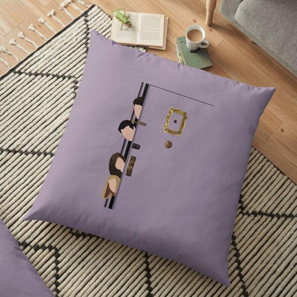 Floating Heads Floor Pillow
