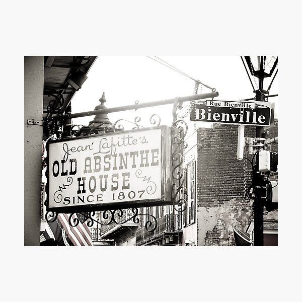 Rue Bienville Photographic Print