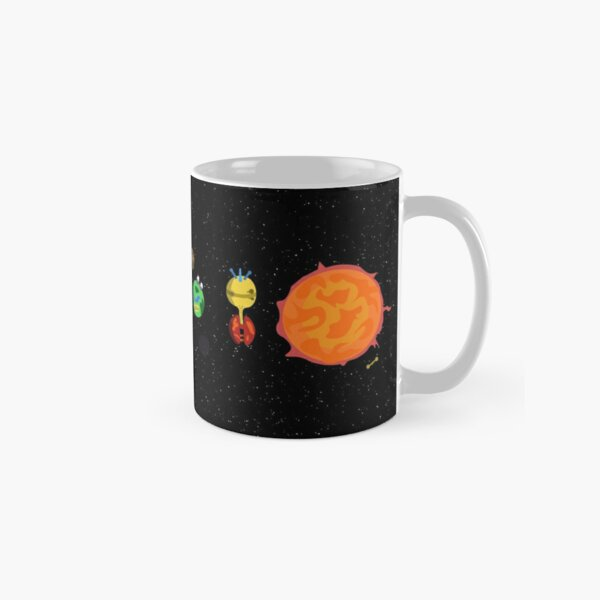 Outer Worlds Solar System (Space) Classic Mug