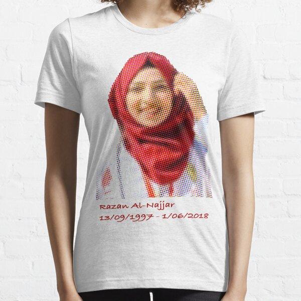 Razan Al-Najjar 13/09/1997 - 01/06/208 Essential T-Shirt