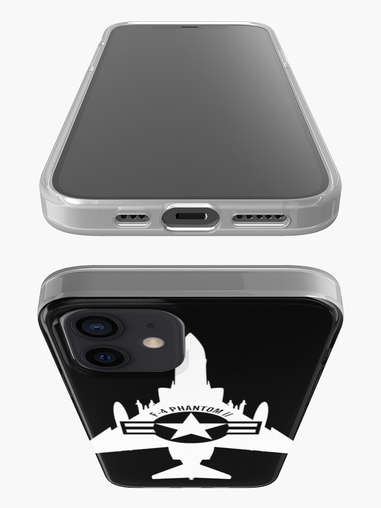 Alternate view of F-4 Phantom II Military Fighter Jet Airplane iPhone Case & Cover