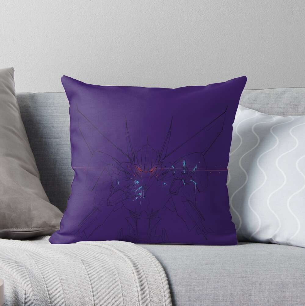 Air commander Throw Pillow