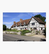 Mary Arden's House at Wilmcote Warwickshire Photographic Print