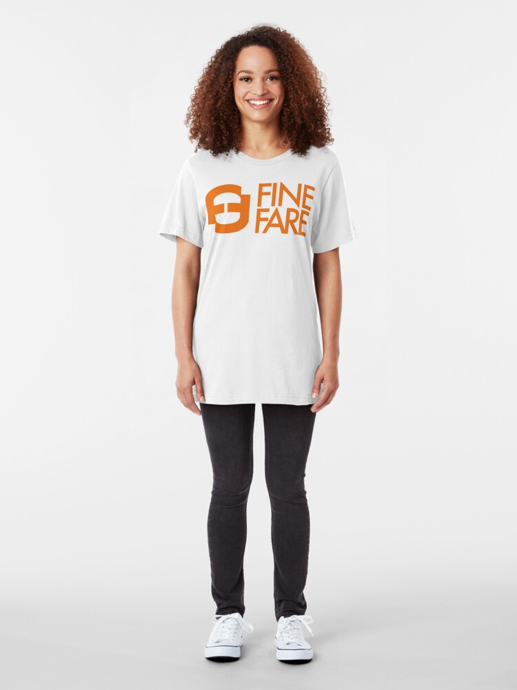 Alternate view of NDVH Fine Fare Slim Fit T-Shirt