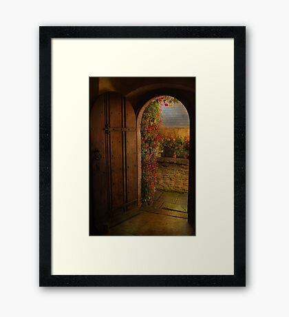The Church Door Framed Print