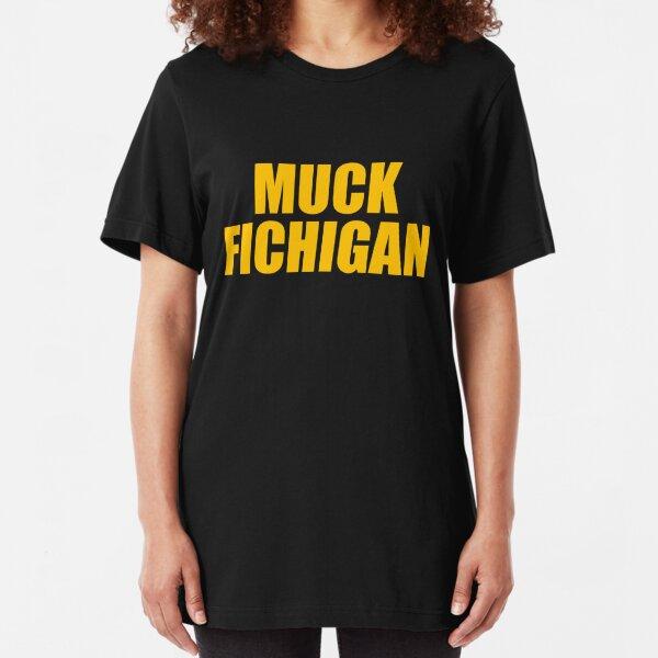 Muck Fichigan Football Slim Fit T-Shirt