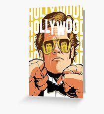Tarjeta de felicitación Hollywood