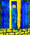 The Blue Doors of la Rue des Fauves by RC deWinter