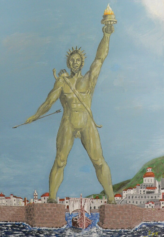 Colossus of Rhodes by Eric Kempson
