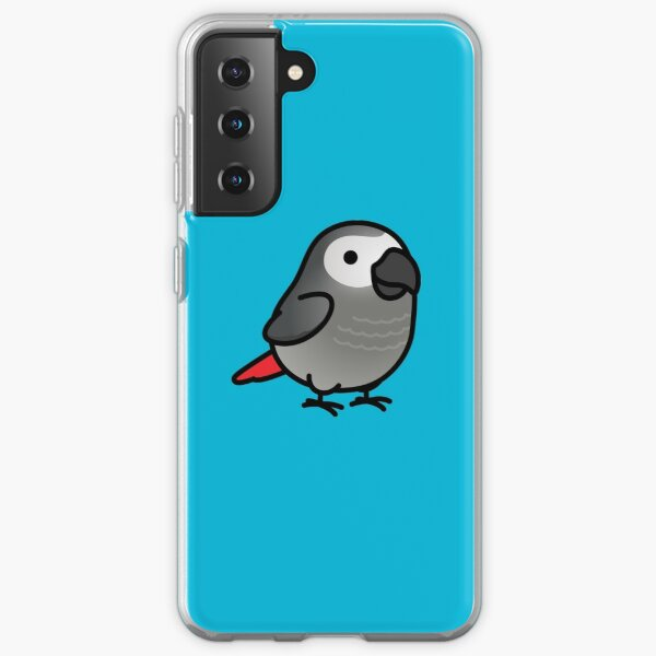 Chubby African Grey Samsung Galaxy Soft Case