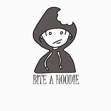 Geek Tee Me: Bite A Hoodie  by GeekTeeMe