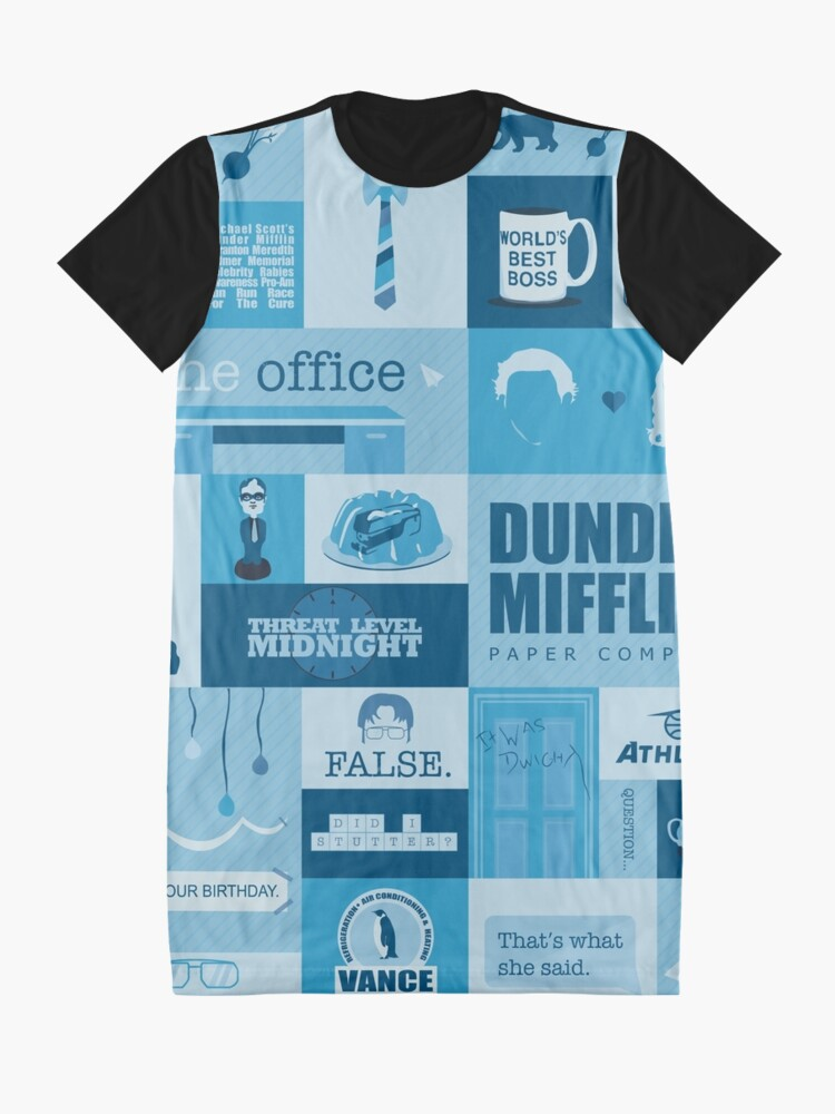 Alternate view of The Office Graphic T-Shirt Dress