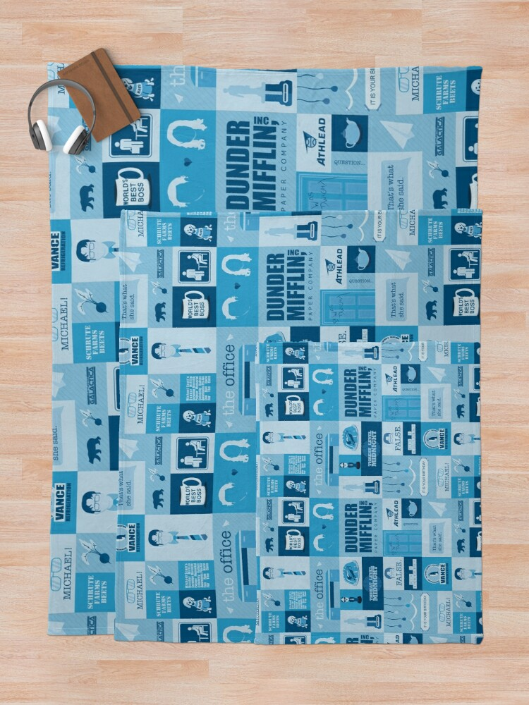Alternate view of The Office Throw Blanket