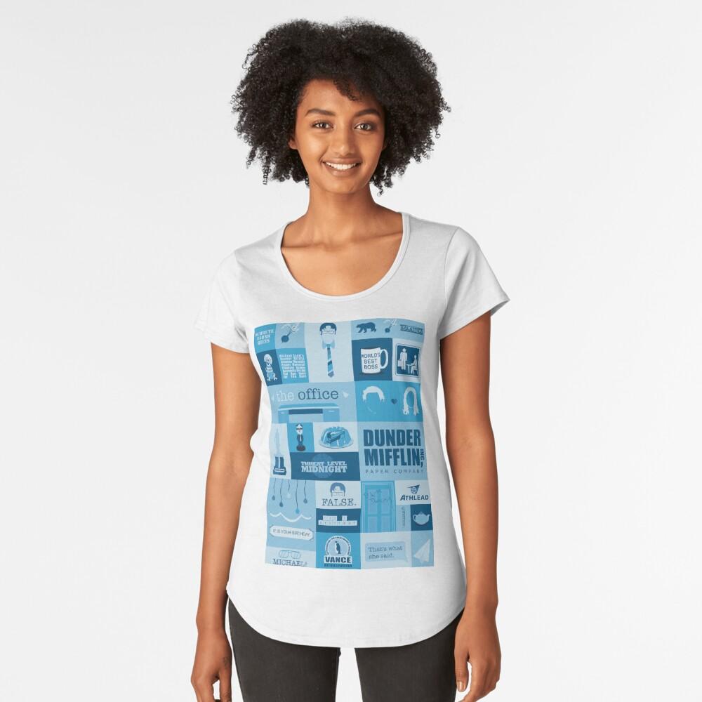 The Office Premium Scoop T-Shirt