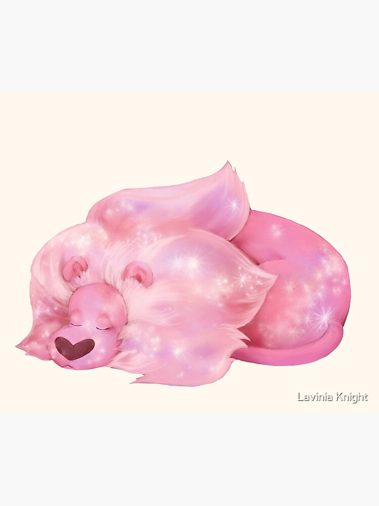 Sleeping Lion - Steven Universe by LaviniaKnight