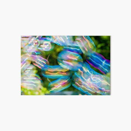 Soap Film - Electric Jellyfish Bubbles Art Board Print
