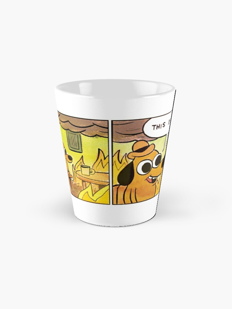 Alternate view of This is fine Mug