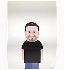 Ricky Gervais. Poster