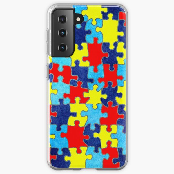 Autism Awareness Samsung Galaxy Soft Case