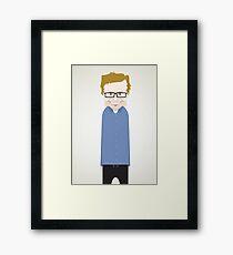 Steve Merchant. Framed Print