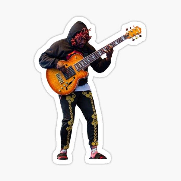 Thundercat bassist sticker Sticker