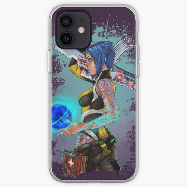 Borderlands 2 Maya the Siren Splatter Tee iPhone Soft Case