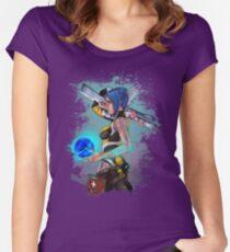 Borderlands 2 Maya the Siren Splatter Tee Women's Fitted Scoop T-Shirt