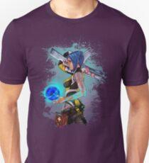 Borderlands 2 Maya the Siren Splatter Tee Slim Fit T-Shirt