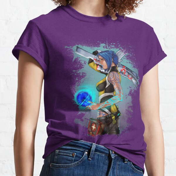 Borderlands 2 Maya the Siren Splatter Tee Classic T-Shirt