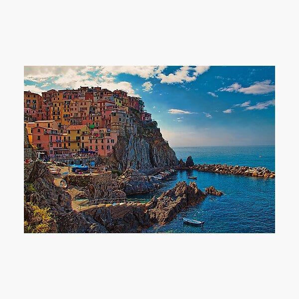 Italy. Cinque Terre. Manarola. Photographic Print