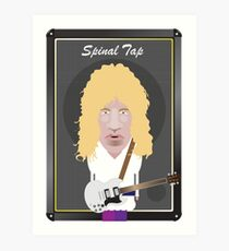 This Is Spinal Tap. David St. Hubbins. Art Print