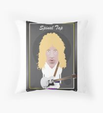 This Is Spinal Tap. David St. Hubbins. Throw Pillow