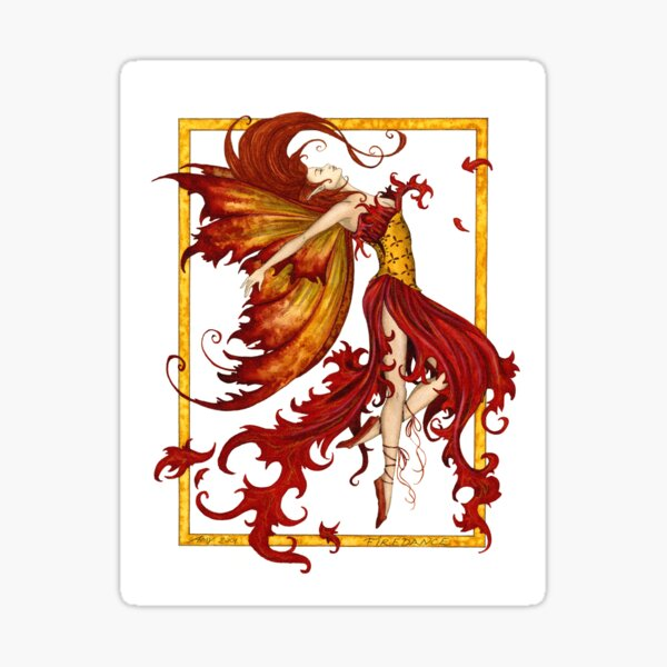 Fire Dance Sticker