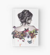 Butterfly Dibujo Cuadernos De Tapa Dura Redbubble